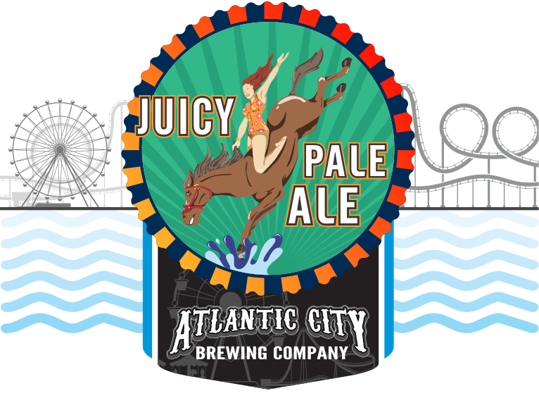 Product Icon for Atlantic City Brewery - Diving Horse Juicy Pale Ale
