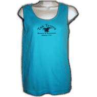 tun merchandise blue tank top