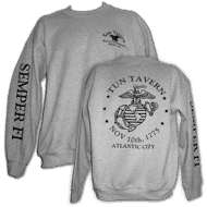 tun merchandise grey sweatshirt