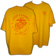 tun merchandise yellow t-shirt