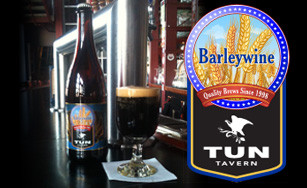 tun tavern brewery has barleywine in bottles available