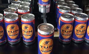 tun tavern brewery has crowlers available