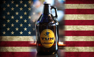 tun tavern brewery has growlers available